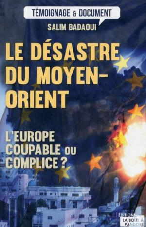 Le désastre du Moyen-Orient; l'Europe coupable ou complice?